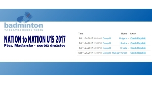 Nation to Nation U15 - 2017